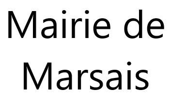 Mairie de Marsais
