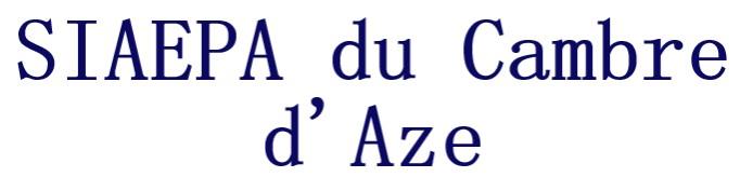 SIAEPA du Cambre d'Aze